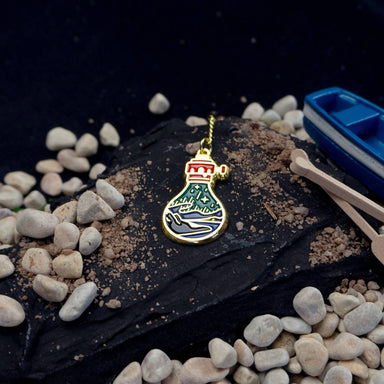 Northern Light Enamel Pin - Pins - John Moniker - Naiise