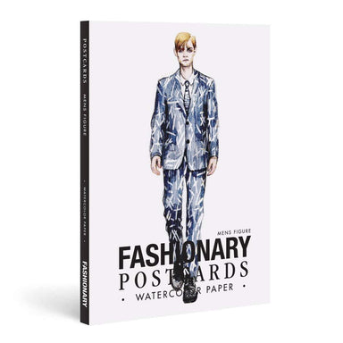 Fashionary Watercolor Postcard Books - Adult Colouring Books - Tan Yang International - Naiise