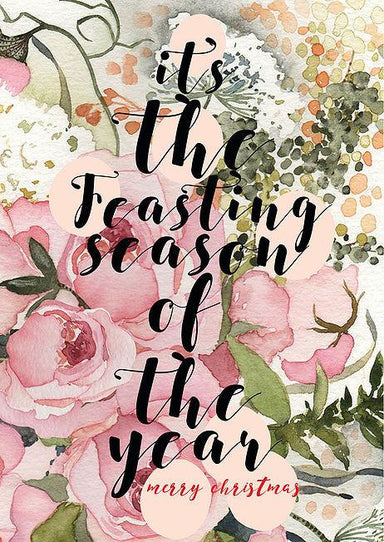 Feasting Season of the Year Postcard - Postcards - The Paper Happiness - Naiise