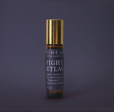 Fight Jetlag-Aromatherapy Oil Roll-On - Essential Oil Roll-Ons - IN-HEAL - Naiise
