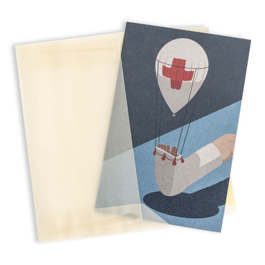 First aid Greeting Card - Get Well Soon Cards - MULTIFOLIA ATELIER di Rita Girola - Naiise