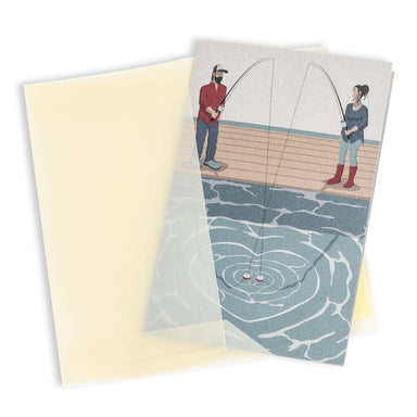 Fishing couple Greeting Card - Wedding Cards - MULTIFOLIA ATELIER di Rita Girola - Naiise