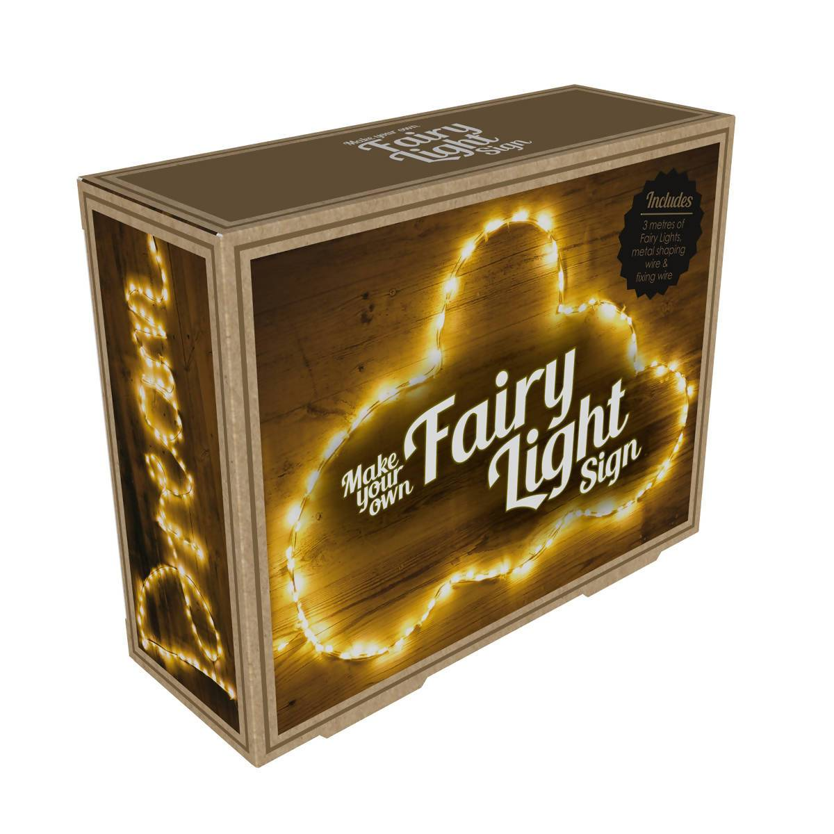 Fizz Creations Make Your Own Fairy Lights Sign - New Arrivals - Zigzagme - Naiise