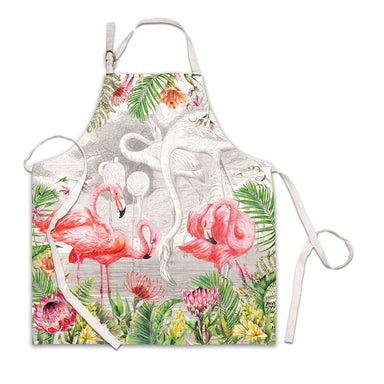 Flamingo Chef Apron - Aprons - Michel Design Works - Naiise