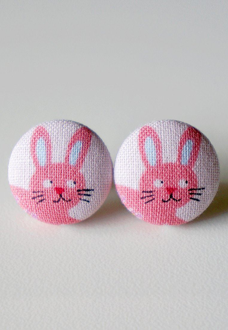 Flopsy The Bunny Stud Earrings - Earrings - Paperdaise Accessories - Naiise