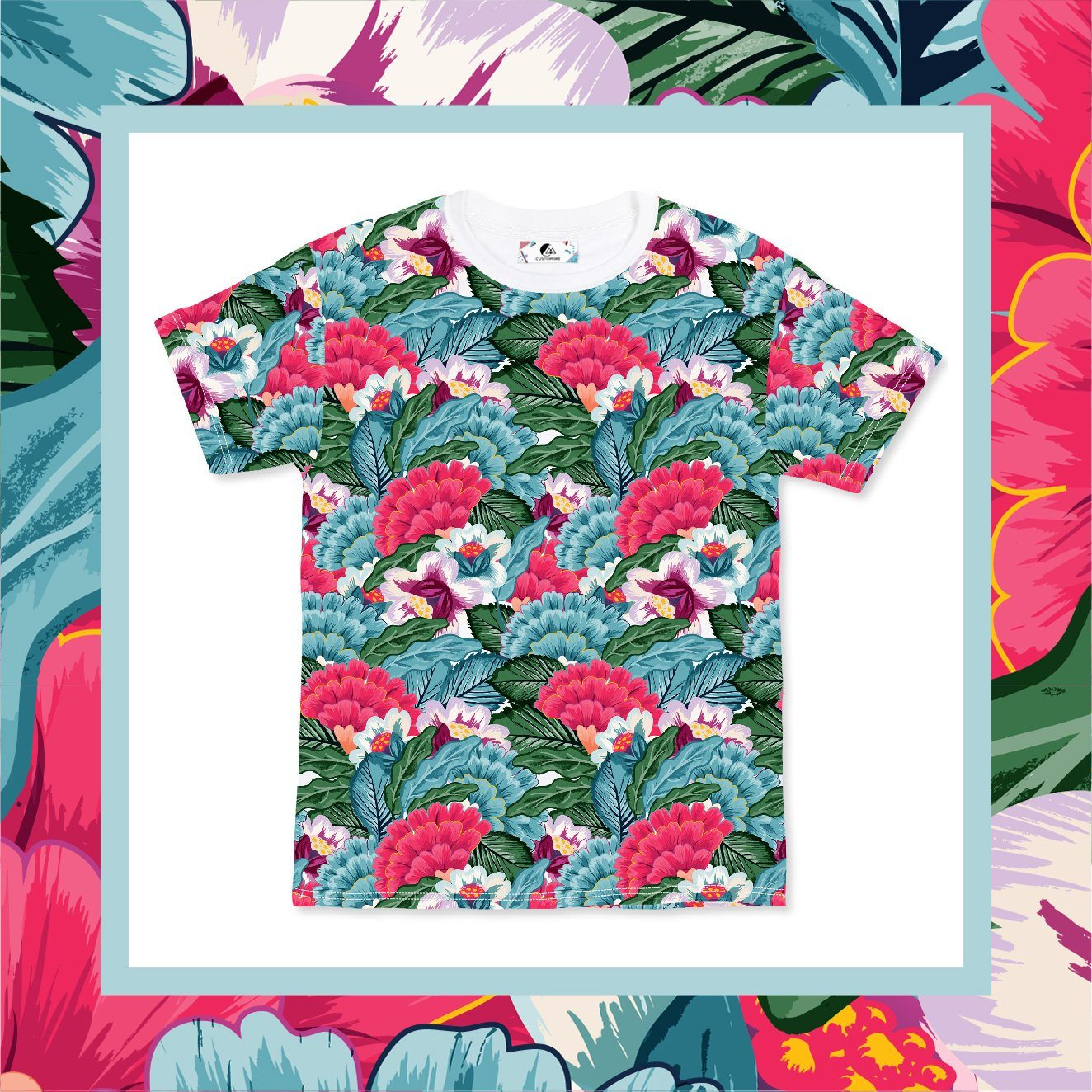 Flower Blossom Men's Tee (Pre-Order) - Local T-shirts - CUSTOMINE - Naiise