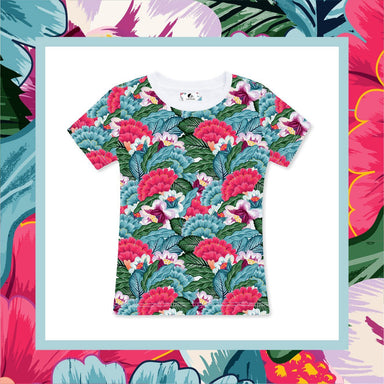 Flower Blossom Women's Tee (Pre-Order) - Local T-shirts - CUSTOMINE - Naiise