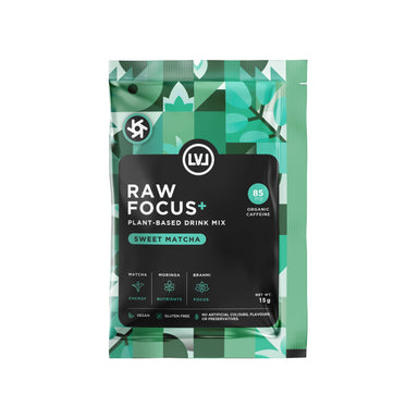 Focus Boost – Sweet Matcha Superfood Powder Mix (6 sachets) - Health Food - LVL - Naiise