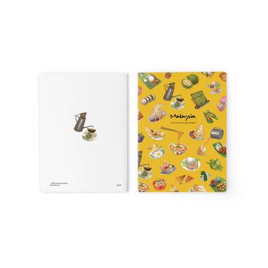 Food Paradise Notebook NB108 Local Notebooks Loka Made