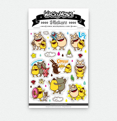 Friendship Sticker Stickers Wackymons