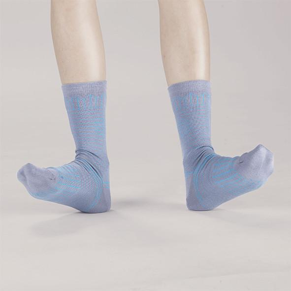Frolicking in the Crease / A Pinch of Offbeat Socks Socks GoodPair Light Grey
