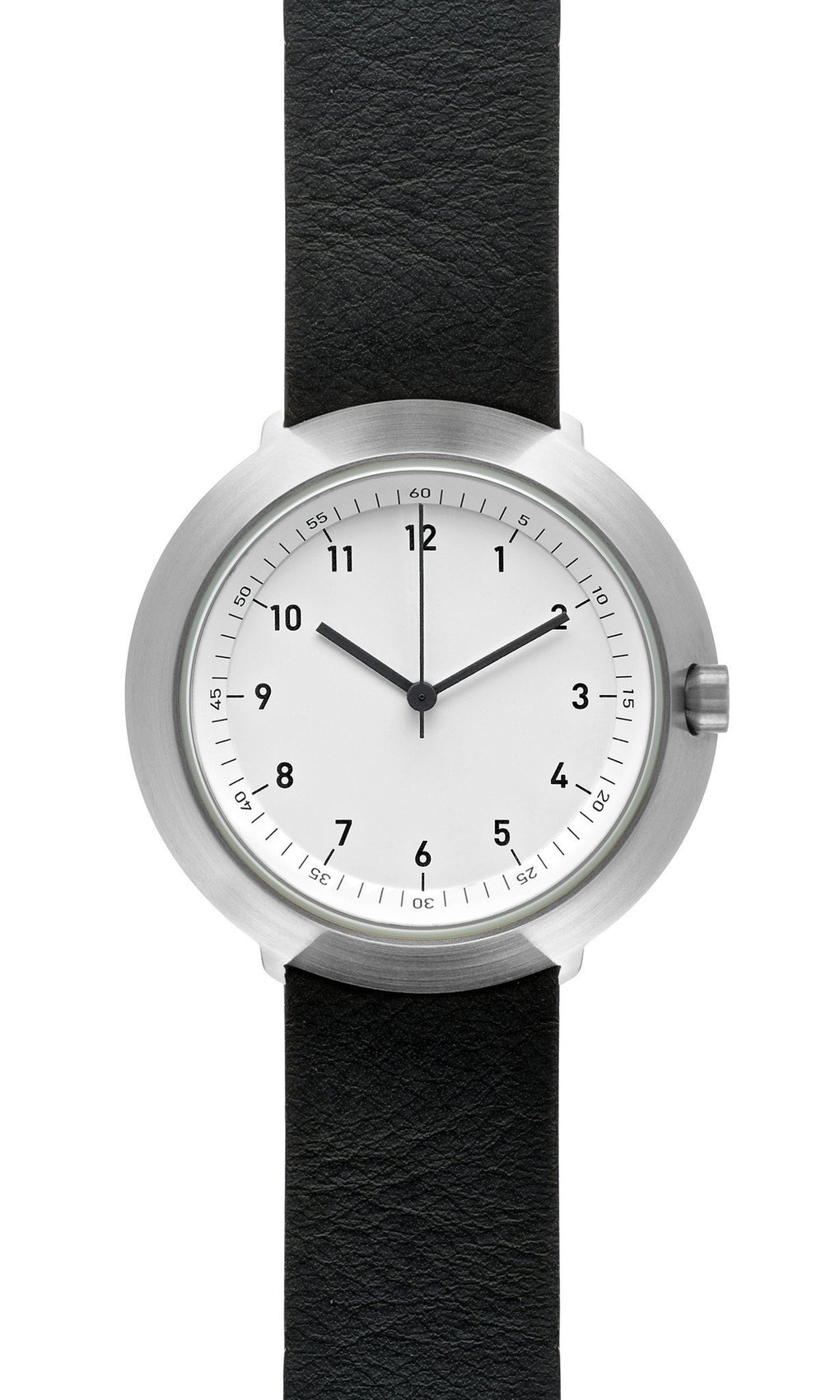 Fuji F43-01 Watch (White Dial with Leather Belt) Watches Normal