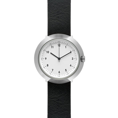 Fuji F43-01 Watch (White Dial with Leather Belt) - Watches - Normal - Naiise
