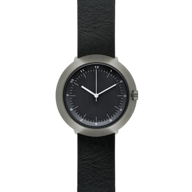 Fuji F43-03 Watch (Black Dial with Leather Belt) - Watches - Normal - Naiise