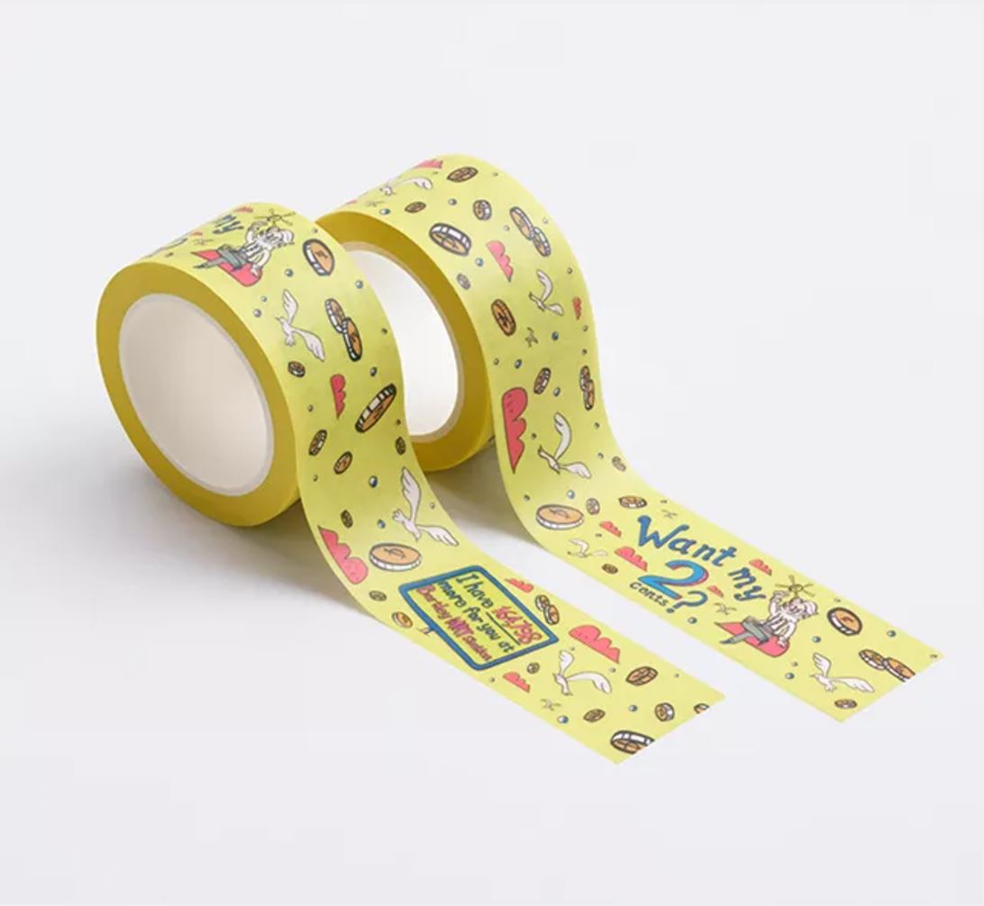 Fun Fact Adhesive Washi Tape: Bartley MRT - Washi Tapes - Knackstop - Naiise