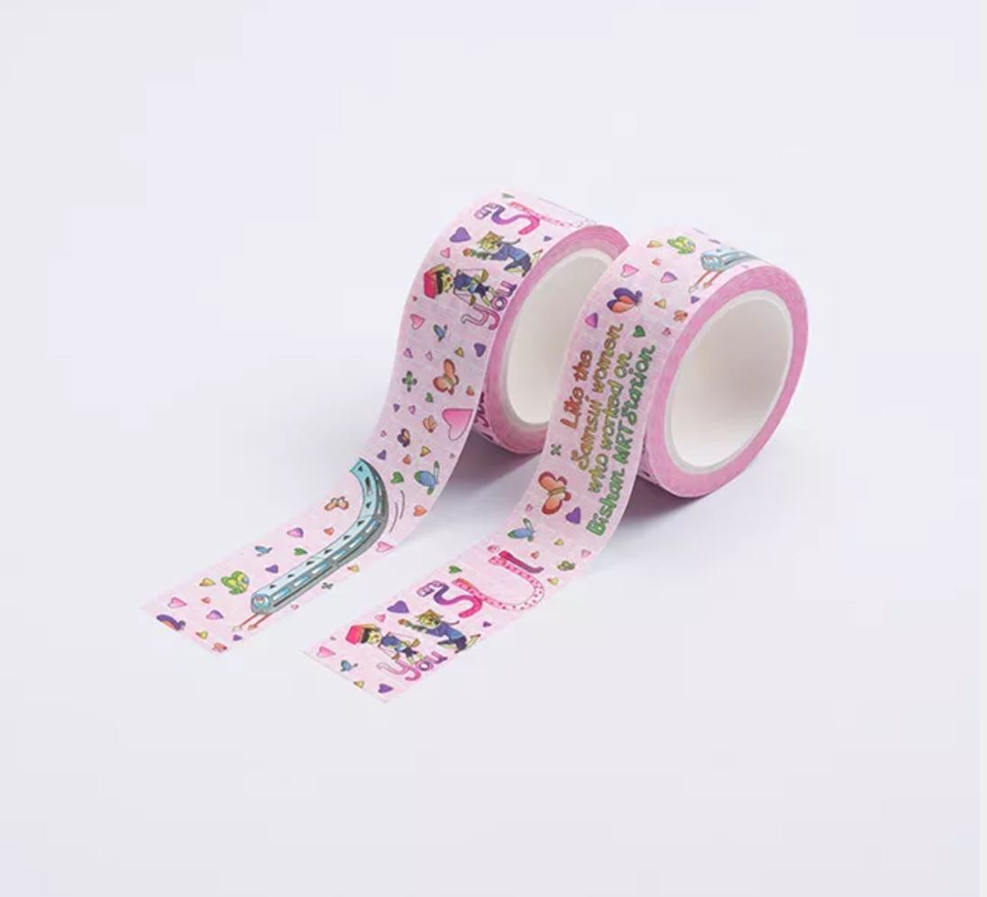 Fun Fact Adhesive Washi Tape (Love Edition) Washi Tapes Knackstop
