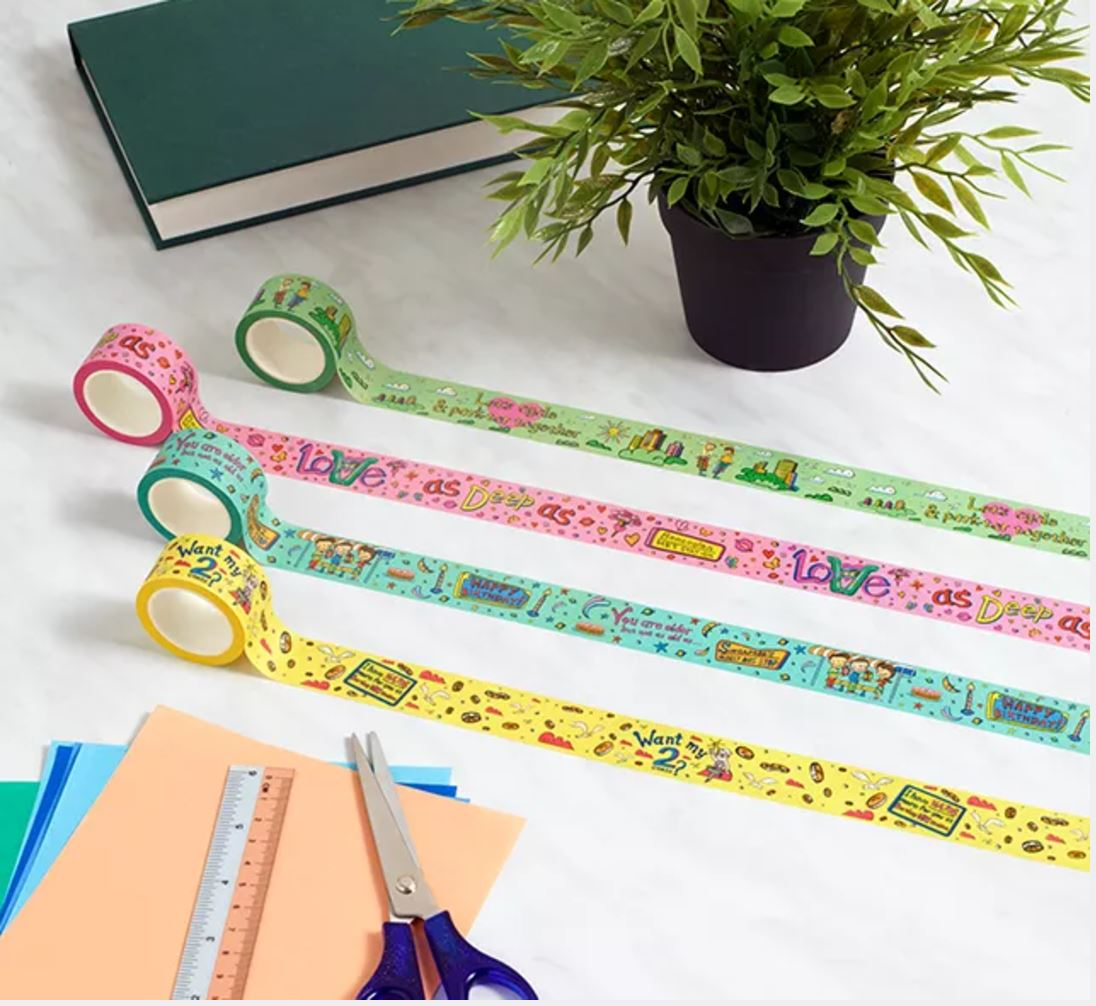 Fun Fact Adhesive Washi Tape: Park-Tor Together Washi Tapes Knackstop