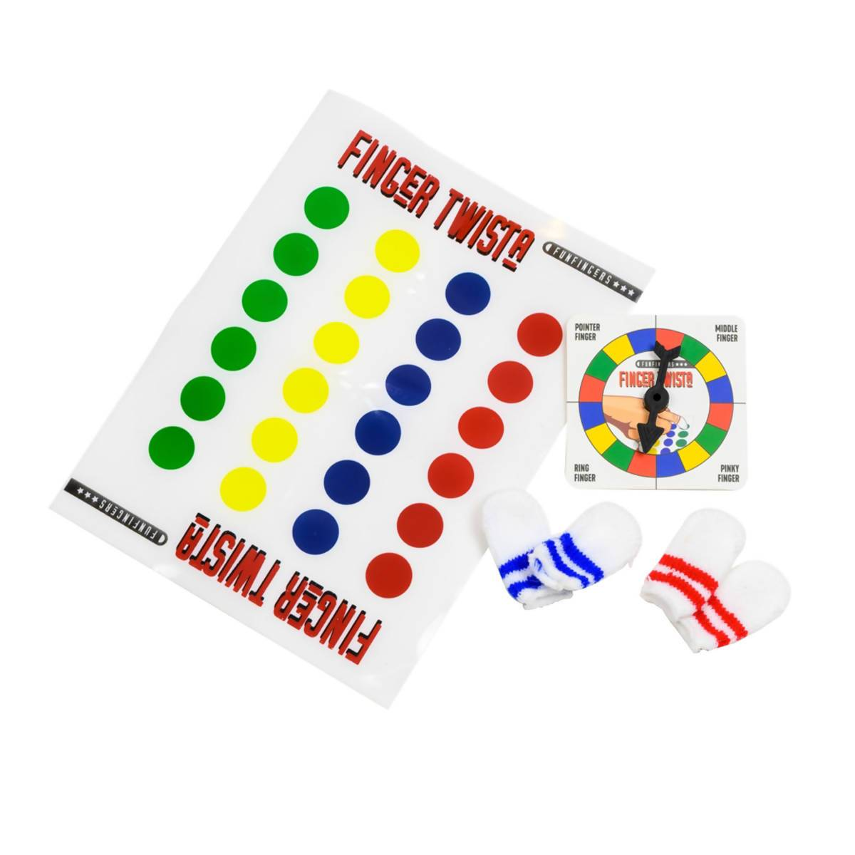 Funtime Gifts Funfingers Twister - Games - Zigzagme - Naiise