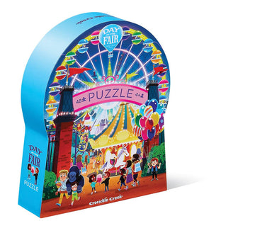 48-pc Puzzle Day at the Museum - Fair - Kids Puzzles - The Children's Showcase - Naiise