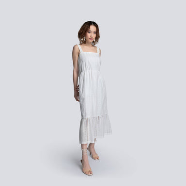 Gabriella Sundress in White - Dresses - Akosée - Naiise