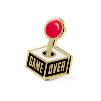 GAME OVER PIN - Pins - These Are Things - Naiise