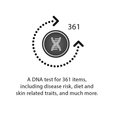 [GeneLife Genesis 2.0] DIY DNA Testing Kit | Analysis of 361 Genetic Traits - DNA Test Kits - GeneLife Official Store - Naiise