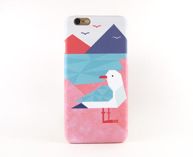 Geometric Seagull Phone Case iPhone 7 Plus - Phone Cases - Emaley - Naiise