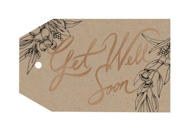 Get Well Soon Gift Tag - Gift Tags - Typoflora - Naiise