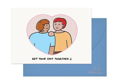 Get Your Shit Together Card - Boys (JUN19C10) Generic Greeting Cards Feelings Club