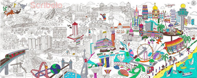 Giant Colouring Poster of Singapore - Naiise