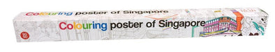 Giant Colouring Poster of Singapore - Local Toys - Scribolo - Naiise