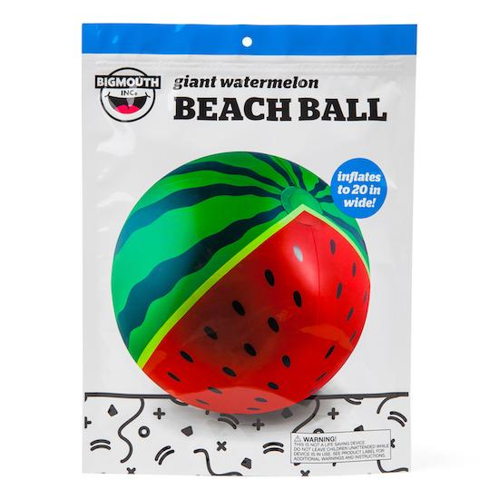 Giant Juicy Watermelon Beach Ball Floats BigMouth Inc