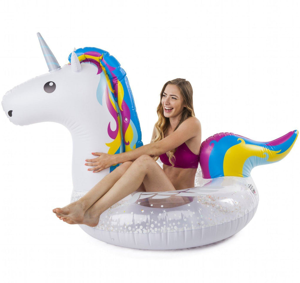 Giant Magical Unicorn Pool Float Floats BigMouth Inc