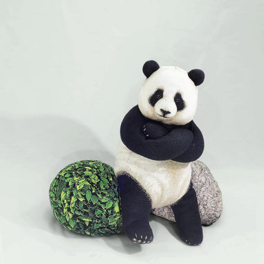 Giant Panda Knit Cushion Bean Bags Chic Sin Design