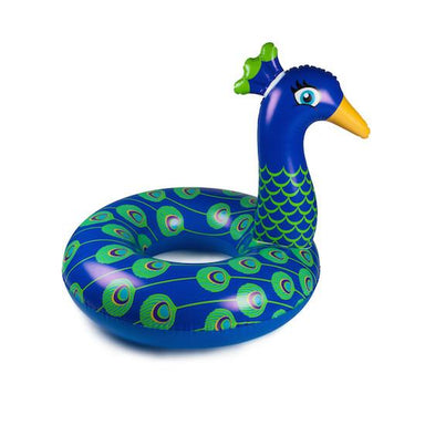 Giant Peacock Pool Float Floats BigMouth Inc