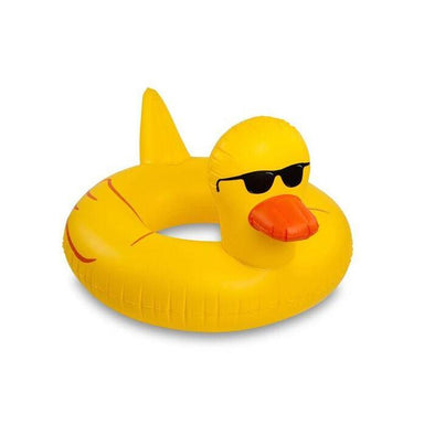 Giant Rubber Duckie Pool Float Floats BigMouth Inc