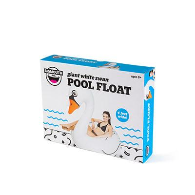 Giant White Swan Pool Float Floats BigMouth Inc
