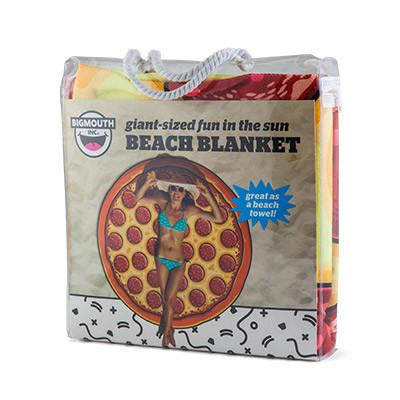 Gigantic Pizza Beach Blanket Beach Blankets BigMouth Inc