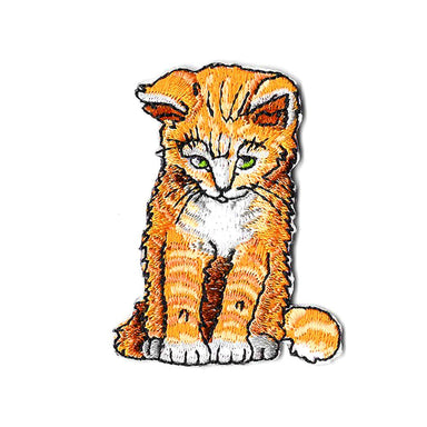 Ginger Cat Sticker Patch Iron On Patches Pew Pew Patches