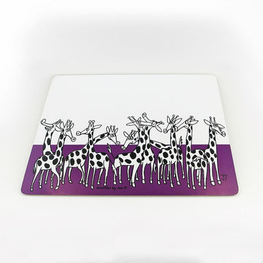 Giraffe Placemat Tableware The Animal Project