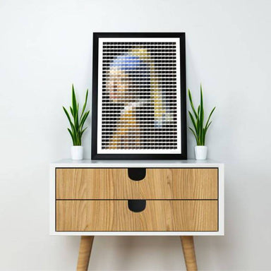 Girl with a Pearl Earring Pantone Print - Prints - Big Red Chilli - Naiise