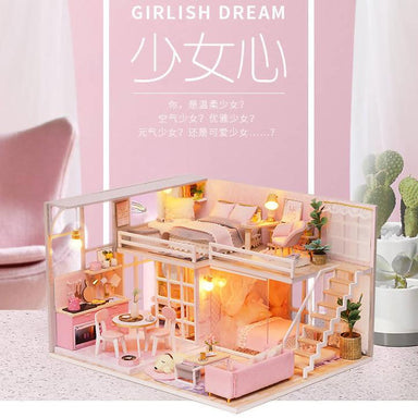 Girlish Dream Dollhouse - DIY Crafts - Blue Stone Craft - Naiise