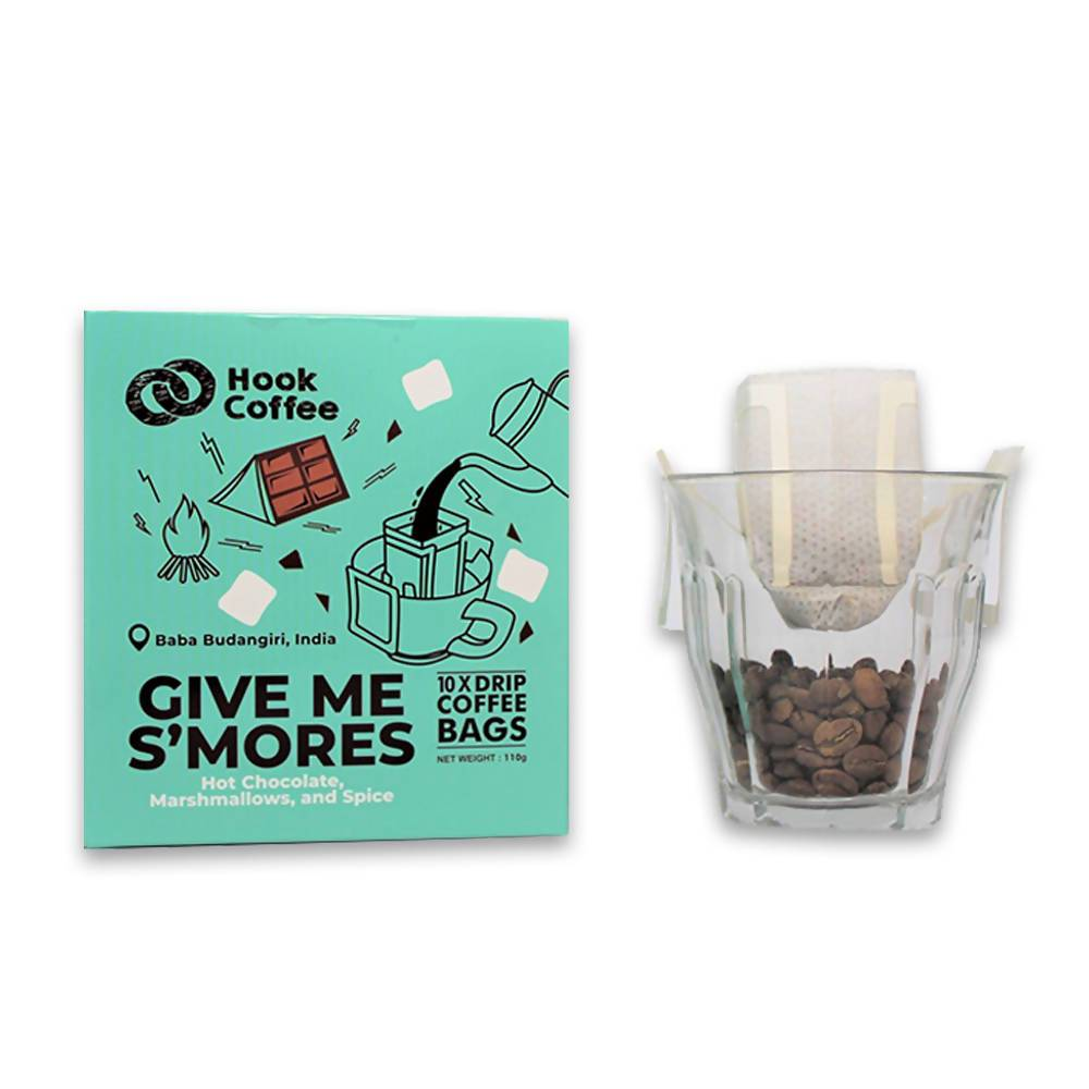 Give Me S'mores Hook Bag - Coffee - Hook Coffee - Naiise