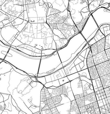Global Series - Seoul Map - Maps - URBAN X MAPS - Naiise