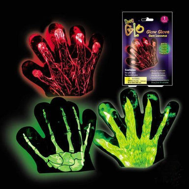 Glow Glove (Red) Partyware Ok Can Lah