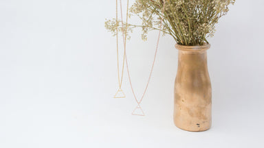 Glyph Necklace - Explore (Gold) Necklaces xhundredfold