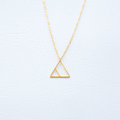 Glyph Necklace - Transform (Gold) Necklaces xhundredfold