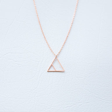 Glyph Necklace - Transform (Rose Gold) Necklaces xhundredfold