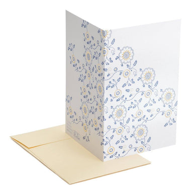 Gold and blue Greeting Card Generic Greeting Cards MULTIFOLIA ATELIER di Rita Girola