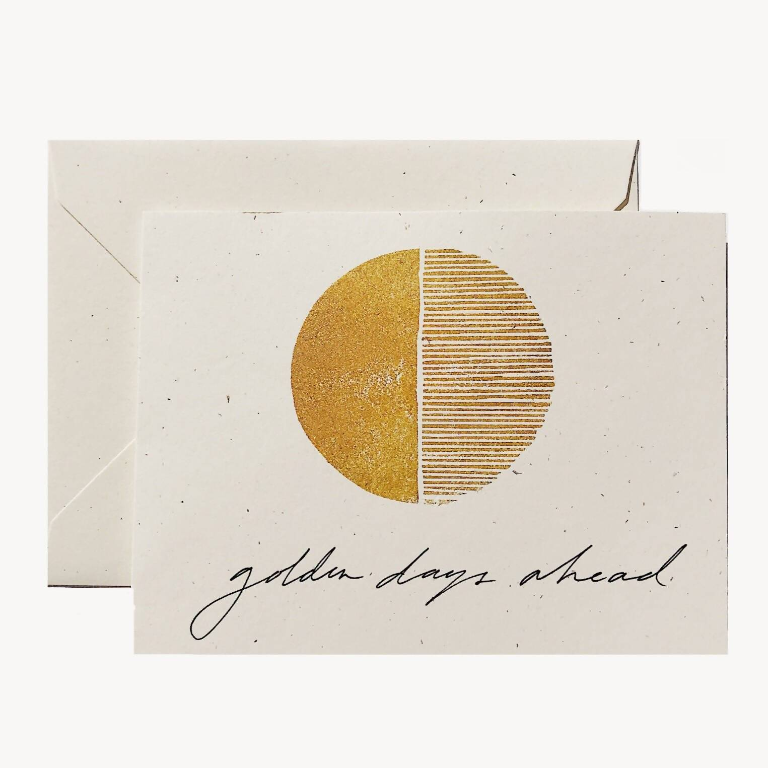 Golden Days Ahead Card - Generic Greeting Cards - Twig & Co - Naiise
